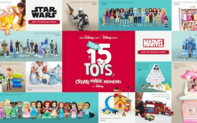 Plan for Winter Fun with shopDisney | Disney store Top 15 Holiday Toys for 2020