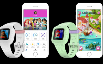 Garmin Releases New Marvel and Disney Princess Themed Vivofit Jr 3 Kids Smart Watches with Activity Apps