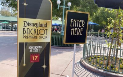 Disneyland Resort Backlot Premiere Shop at Stage 17 in Disney California Adventure Opens As An Extension of Downtown Disney