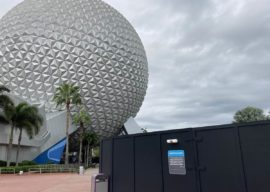 EPCOT Celebrates 38th Anniversary with Construction Projects Around The Park