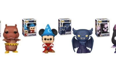 """Celebrate 80 Years of Walt Disney's """"Fantasia"""" With Funko Pop! Vinyl Figures Coming This January"""