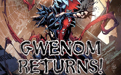 """Gwenom Joins the Fight Against Knull in """"King In Black: Gwenom vs Carnage"""""""