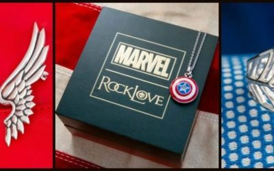 Captain America, Thor, and Spider-Man Jewelry Joining Marvel x RockLove Collection on October 8