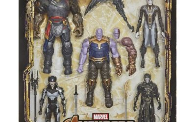 "New Hasbro Marvel Legends Series ""The Children of Thanos"" Five-Pack of Figures Available for Pre-Order"