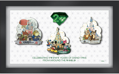 Pin Traders Can Virtually Celebrate 20 Years of Disney Pins This November 13th and 14th