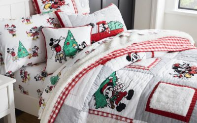 Pottery Barn Kids Launches New Disney's Mickey Mouse Holiday Collection