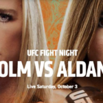 Preview - UFC Fight Night: Holm vs. Aldana on ESPN+