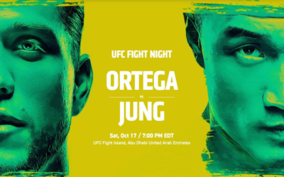 Preview - UFC Fight Night: Ortega vs. Jung on ESPN+