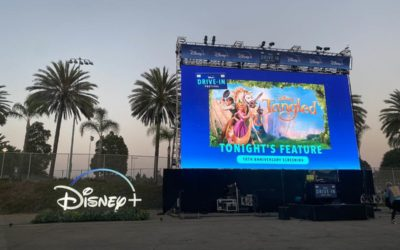 "Recap: Disney+ Drive-In Festival Hosts 10th Anniversary Screening of Disney's ""Tangled"""