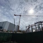 Construction Photo Update: Tron Lightcycle / Run Expands Canopy Supports
