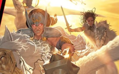 """Asgardian Legends Will Reunite in """"King in Black: Return of the Valkyries"""" January 6"""
