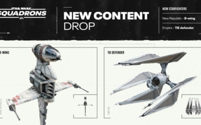 "B-Wing Starfighter, TIE Defender Coming to ""Star Wars: Squadrons"" with New Map in November DLC"