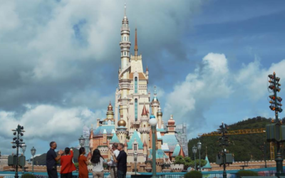 Hong Kong Disneyland's Castle of Magical Dreams Opens Today Celebrating Disney Princesses and Queens
