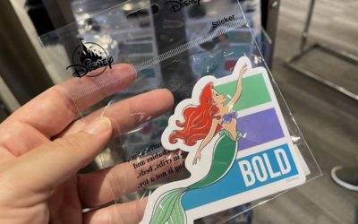 Disney World Releases New Disney Princess Adjective Stickers