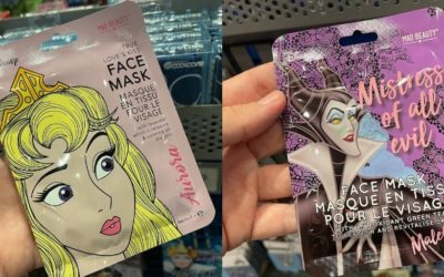 Give Your Face a Magical Glow with New Disney Princess and Villains Beauty Face Mask at Walt Disney World