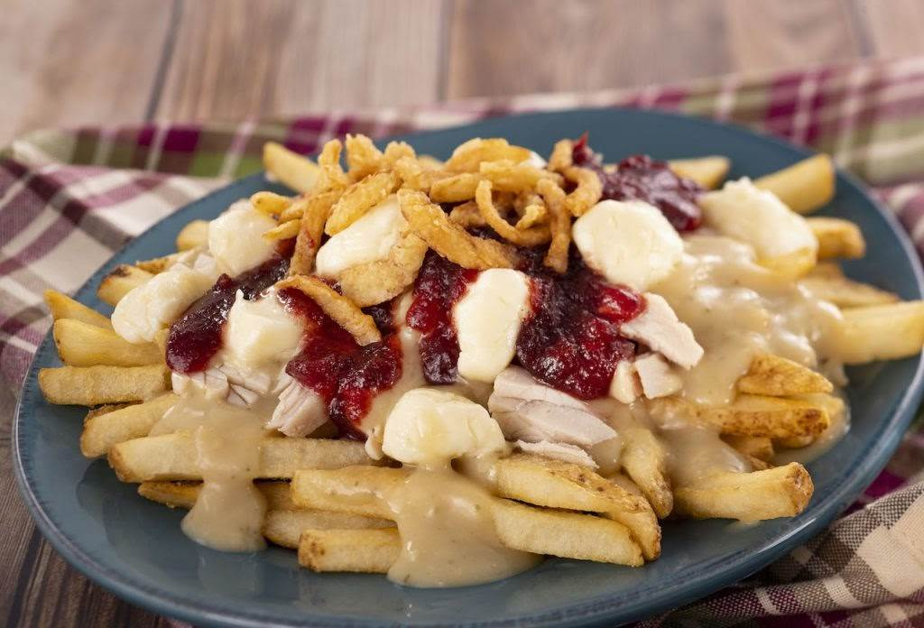 Turkey Poutine French Fries from Refreshment Port at the 2020 Taste of Epcot International Festival of the Holidays