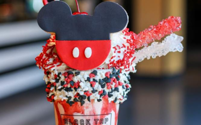 Downtown Disney's Black Tap Offers Special Edition Shake Featuring Mickey Mouse