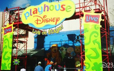 Extinct Attractions: Bear in the Big Blue House, Playhouse Disney, and Disney Junior - Live on Stage!