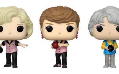"""""""Stay Calm, Cool and Collected"""" New """"Golden Girls"""" Bowling Funko Pop! Figures are Now Available for Pre-Order"""