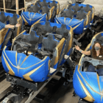 Disney Shares First Look at Completed Ride Vehicles for Guardians of the Galaxy: Cosmic Rewind Attraction