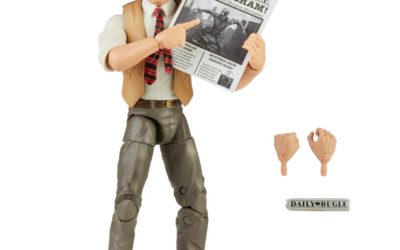 Hasbro Reveals Marvel Legends Series J. Jonah Jameson Figure, War Machine Electronic Helmet