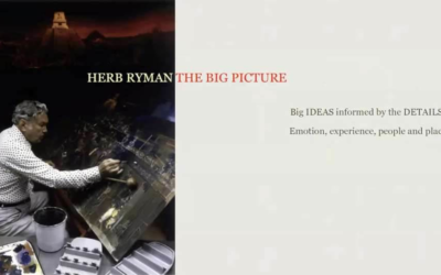 """Event Recap: """"Herb Ryman: The Big Picture"""" from The Walt Disney Family Museum"""