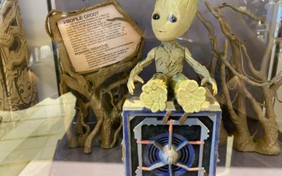 Interactive Groot Appears on World of Disney Shelves and Get's Things Rockin'
