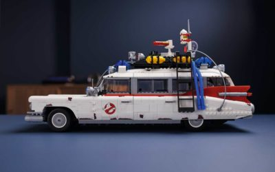 "LEGO Announces New Large-Scale ""Ghostbusters: Afterlife"" ECTO-1 Building Set for Adult Collectors"