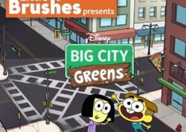 """Little Brushes and Disney Channel Present A Special """"Big City Greens"""" Two-Day Virtual Painting Event!"""