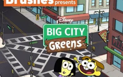 "Little Brushes and Disney Channel Present A Special ""Big City Greens"" Two-Day Virtual Painting Event!"