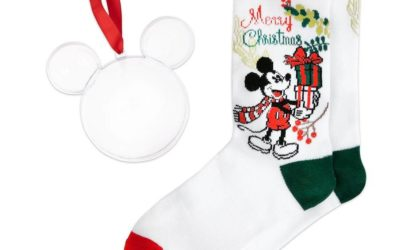 Deck Your Halls with Gifts with Disney's Socks in an Ornament Collection
