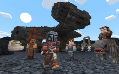 New Minecraft Star Wars DLC Includes Original Trilogy and The Mandalorian