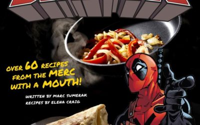 """New """"Cooking with Deadpool"""" Cookbook Coming in February"""