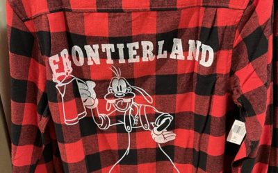 New Flannel Shirts Debut at Magic Kingdom and World of Disney at Disney Springs