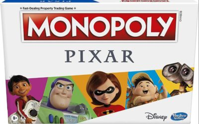 Explore the World of Pixar with Amazon Exclusive Monopoly: Pixar Edition Board Game