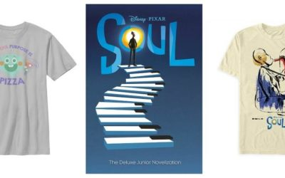 """Merchandise Inspired by Pixar's """"Soul"""" Makes its Way to shopDisney"""