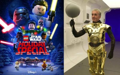 "Q&A: Actor Anthony Daniels, Legendary Performer Behind C-3PO, Talks ""LEGO Star Wars Holiday Special"""