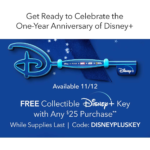 shopDisney Celebrates 1 Year Anniversary of Disney+ With Commemorative Key