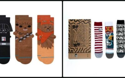 Stance Holiday Gift Guide Features Socks (and Masks) for Mickey Mouse and Star Wars Fans