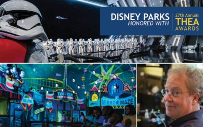 Star Wars: Rise of the Resistance, Mickey & Minnie's Runaway Railway Receive Outstanding Achievement Awards from Themed Entertainment Association