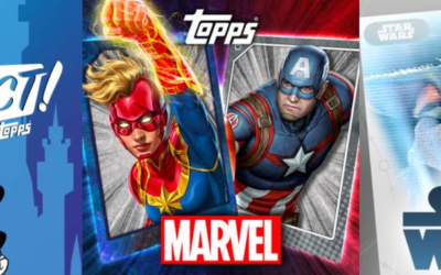 Topps Holding Weeklong Celebration in Conjunction with D23 Fantastic Worlds
