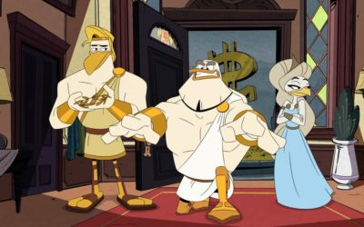 "TV Review: ""DuckTales"" Season 3, Episode 15 - ""New Gods On the Block!"""