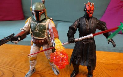 Video Review: Star Wars Boba Fett and Darth Maul Action Figures from Diamond Select and shopDisney