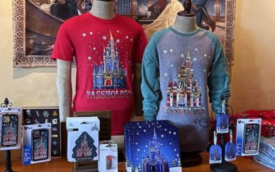 Annual Passholder Exclusive Holiday Collection Arrives at Magic Kingdom
