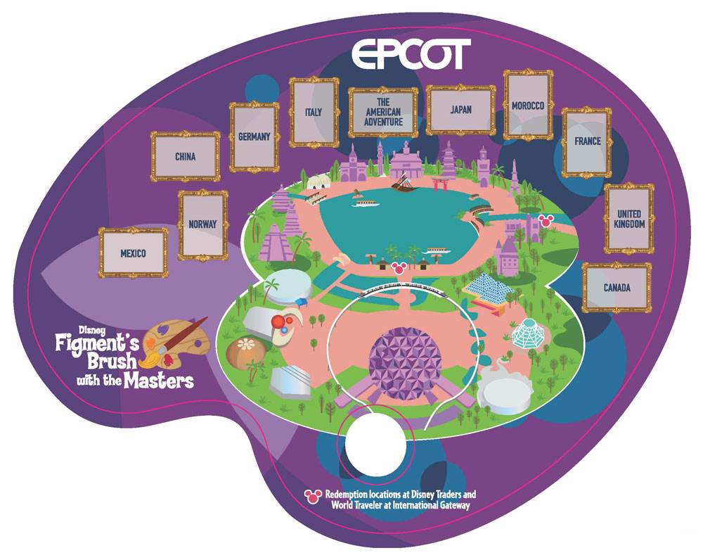 Figment's Brush with the Masters