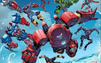 """Avengers Mech Strike #1"" Gets Action-Packed Trailer Ahead of February Release"