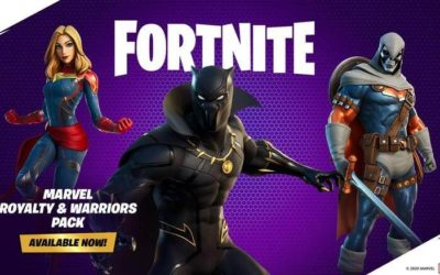 Black Panther, Captain Marvel and Taskmaster Now Available in Fortnite