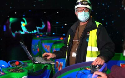 Buzz Lightyear Laser Blast Reopening February 2021 at Disneyland Paris with New Enhancements Inside and Out