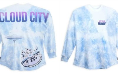We're Floating High on shopDisney's New Star Wars Cloud City Spirit Jersey