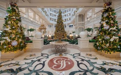 Disney Characters to Appear at Resort Hotel Lobbies During Holiday Celebrations